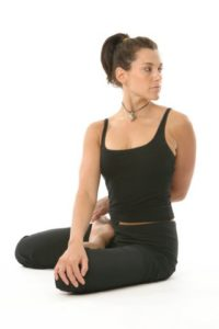 Seated Cross Legged Twist