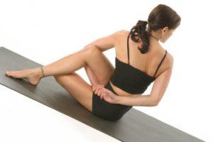 Yoga for Gold - Seated Cross Legged Twist