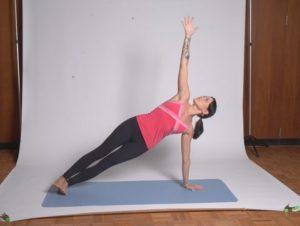 Side Plank - Yoga for Golf