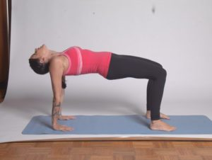 Inverted Table Pose