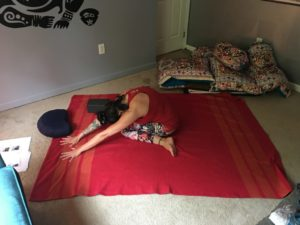 Yin Pose of the Week - Happy Cow