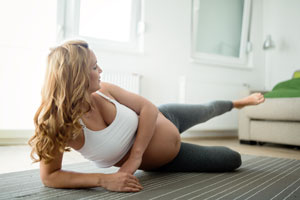 Power Yoga for Sports - Pregnant Athletes